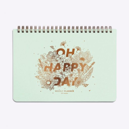 Semainier Les Editions du Paon Oh Happy Day