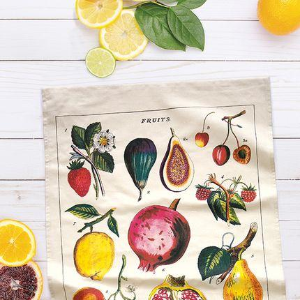 Torchon de cuisine Fruits Cavallini