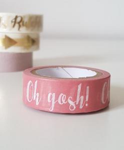 Masking tape Oh gosh !
