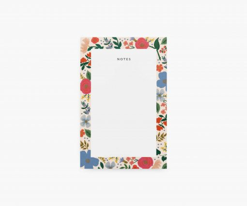 Bloc-notes Wild Rose Rifle Paper