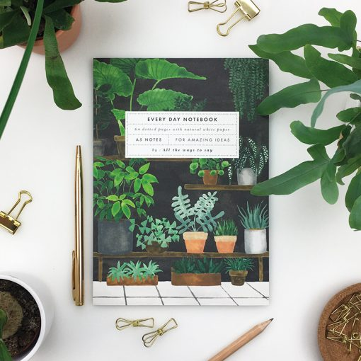 Carnet Plant shop All The Ways To Say