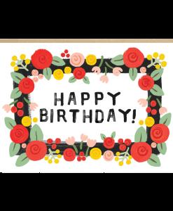 Carte anniversaire Feliz Jade Fisher