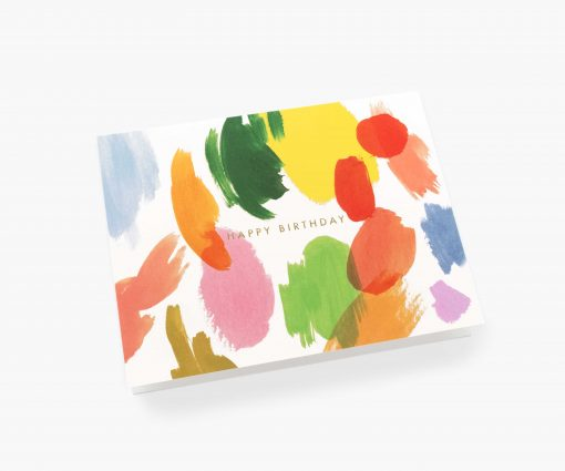 Carte anniversaire Rifle Paper Co Palette