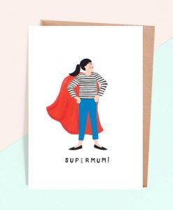 Carte maman Jade Fisher Supermom