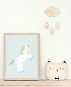 Affiche Licorne Zü