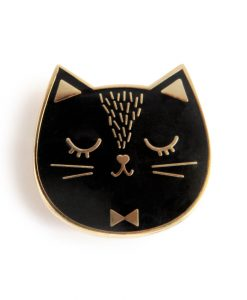 Pin's chat noir ZÜ