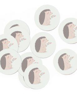 Stickers Hérisson – Lot de 10