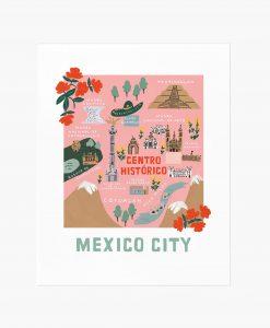 Affiche Mexico Rifle Paper Co