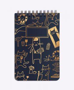 Bloc-notes Cat's life Les Editions du Paon