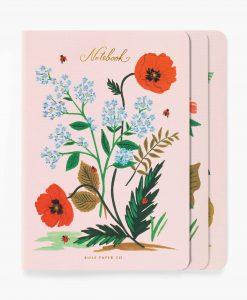 Set de 3 carnets Rifle Paper Co Botanical