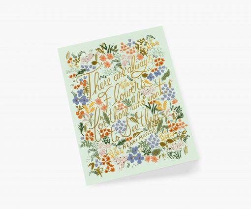 Carte à message Matisse quote Rifle Paper
