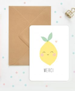 Carte merci Citron