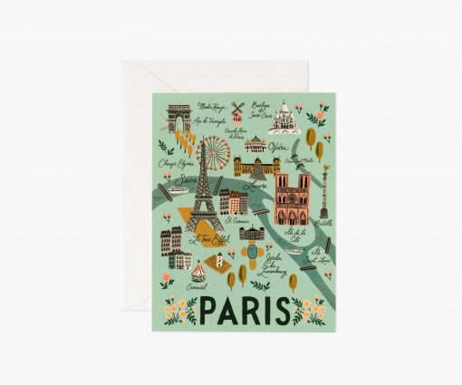Carte Paris Rifle Paper Co