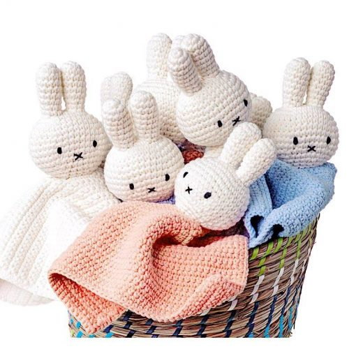 Doudou Miffy – Rose pastel