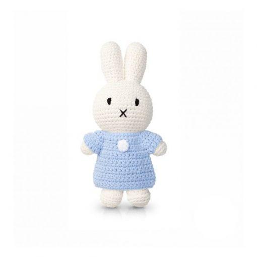 Peluche Miffy Robe – Bleu tendre