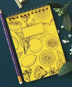 Bloc-notes Lemonade Les Editions du Paon