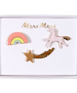 Set de 3 pin's Licorne
