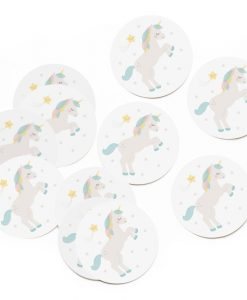 Stickers Licorne – Lot de 10