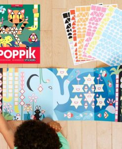 Stickers poster Jungle (3-7 ans)