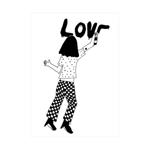 Affiche Love Helen B