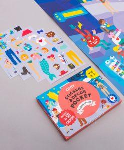 Poster avec stickers – Fashion Stylist