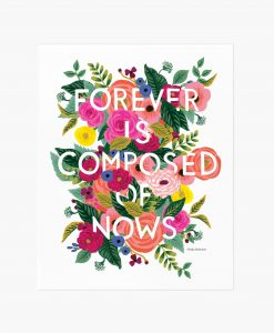 Affiche Fleurs Forever Rifle Paper Co