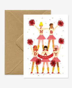 Carte anniversaire Pom Pom girl All The Ways To Say