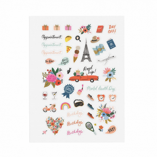 Stickers Rifle Paper Lot de 128