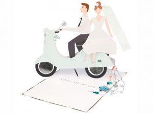 carte 3D felicitation mariage meri meri