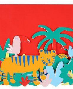 Carte anniversaire Jungle Meri Meri