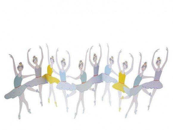 Carte Anniversaire Danseuses Meri Meri Pastel Shop