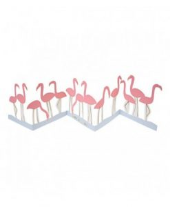Carte anniversaire Flamand rose Meri Meri