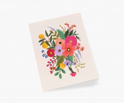 Carte florale Garden party Rifle Paper blush