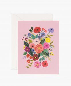Carte florale Garden party Rifle Paper rose