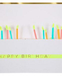 Carte Gâteau d'anniversaire à déplier Meri Meri