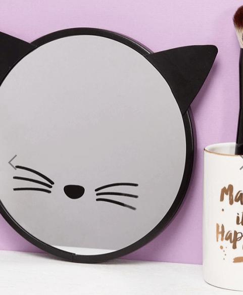 Miroir Tête de chat