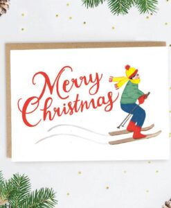 Carte Joyeux Noël Aspen Jade Fisher