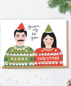 Carte de Noël Jingle Jade Fisher