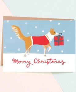 Carte de Noël Merry Christmas Jade Fisher