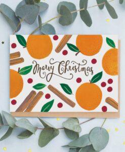 Carte de Noël Cannelle Jade Fisher