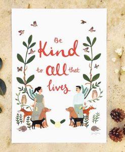Affiche Kindness Jade Fisher