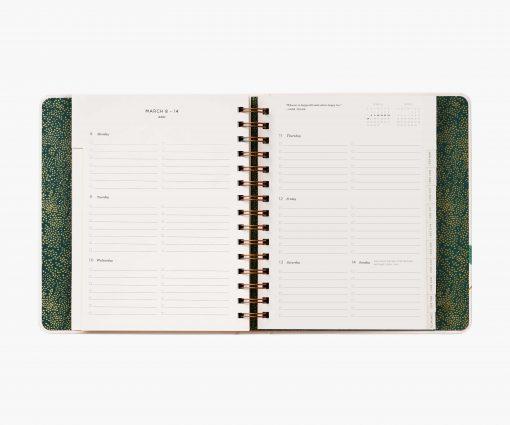 Agenda 2021 Rifle Paper Wild Garden – Spirales
