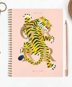 Agenda mensuel Tiger All The Ways To Say