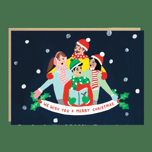 Carte Chants de Noël Jade Fisher