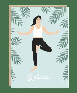 Carte Relax yoga Jade Fisher