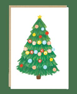 Carte Sapin de Noël Jade Fisher