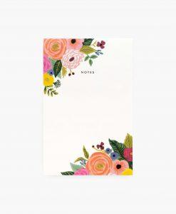 Bloc-notes Rifle Paper Co Juliet Rose