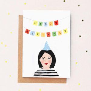 Carte anniversaire Jade Fisher