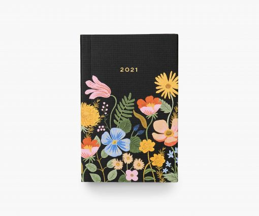 Agenda de poche 2021 Rifle Paper Strawberry Fields