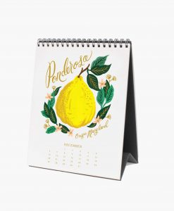 Calendrier Rifle Paper 2021 Lemon